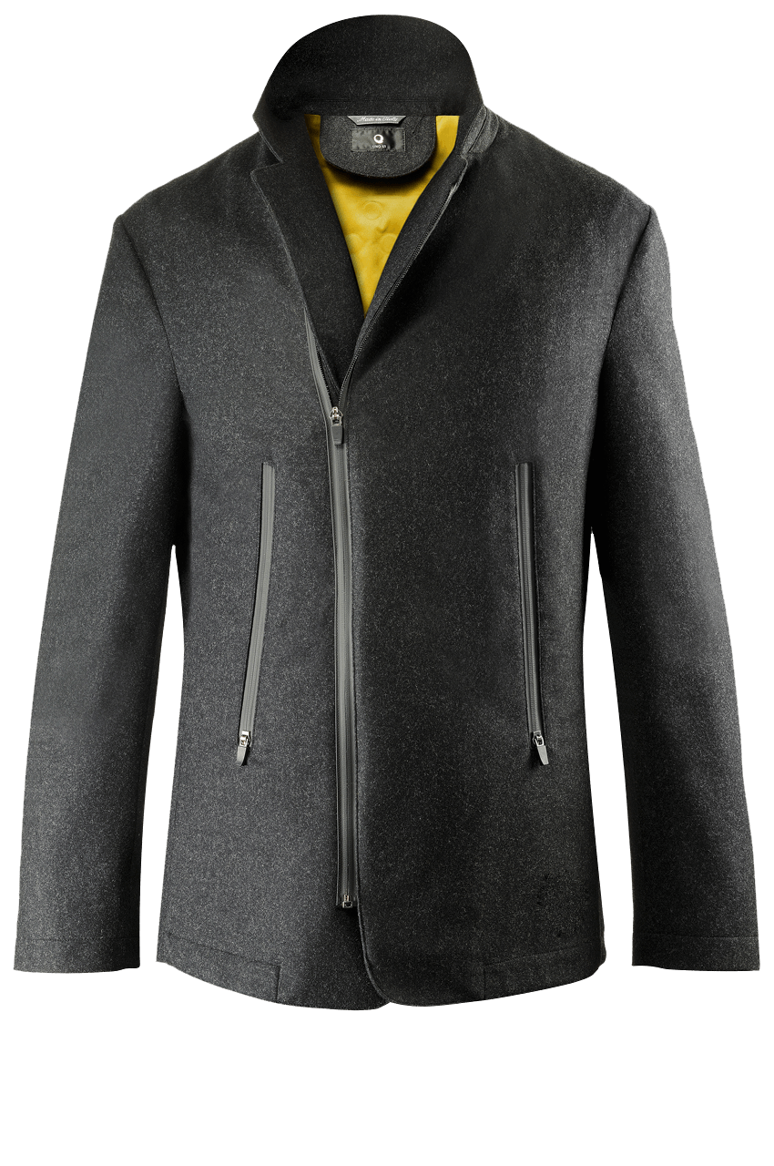 Travel Air Jacket wool antracite