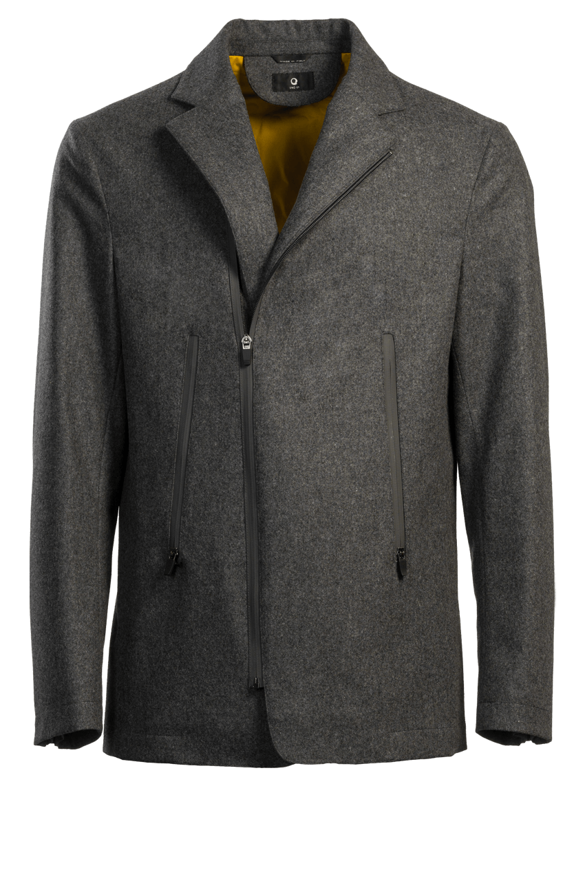 Travel Air Jacket wool grey