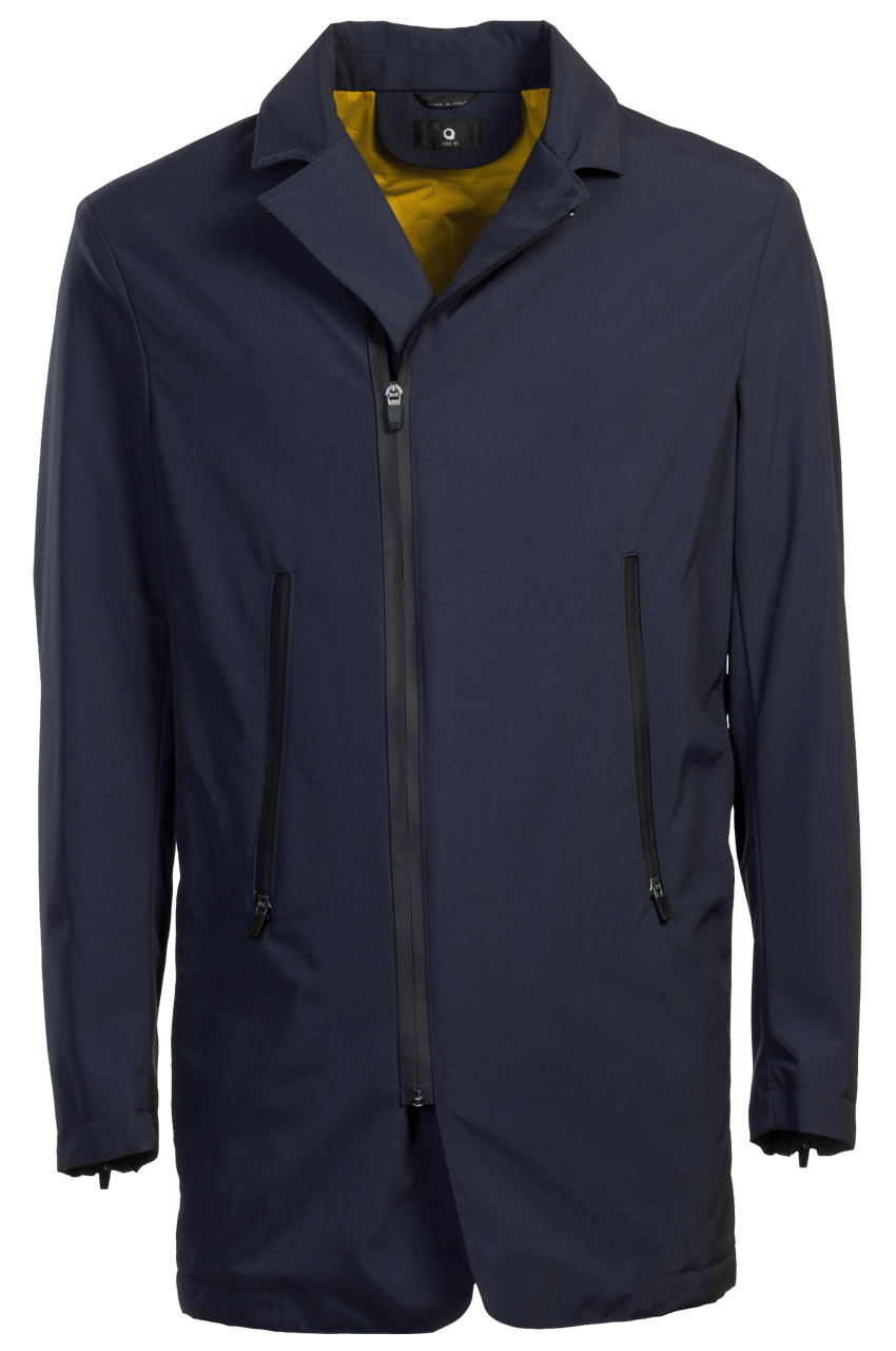 Travel Air Coat nylon blue